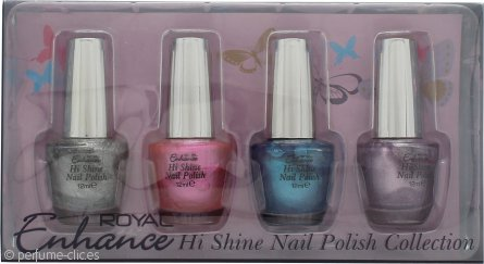 Royal Cosmetics Enhance Set de Regalo 4 x 12ml Esmalte de Uñas