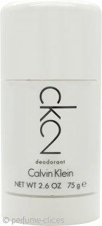 Calvin Klein CK2 Desodorante en Barra 75ml