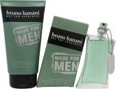 Bruno Banani Made for Men Set de Regalo 50ml EDT Vaporizador + 150ml Gel de Ducha