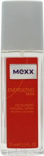Mexx Energizing Man Desodorante Vaporizador 75ml