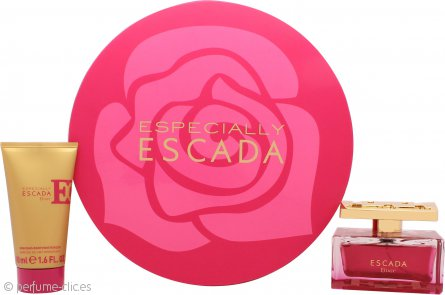 Escada Especially Elixir Set de Regalo 75ml EDP Vaporizador + 50ml Loción Corporal