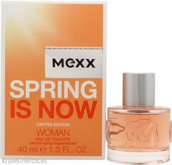 Mexx Spring is Now Woman Eau de Toilette 40ml Vaporizador