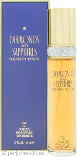 Elizabeth Taylor Diamonds & Sapphires Eau de Toilette 50ml Vaporizador