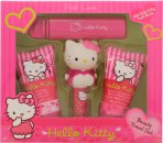 Hello Kitty Pink Love Set de Regalo 30ml Loción Corporal + 30ml Gel de Ducha + 4.5g Bálsamo Labial + Fragancia Afrutada