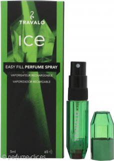 Travalo Fragrance Vaporisateur Travalo Ice 5ml Vaporizador Rellenable Verde