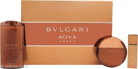 Bvlgari Aqva Amara Set de Regalo 100ml EDT + 200ml Gel de Ducha + 15ml EDT
