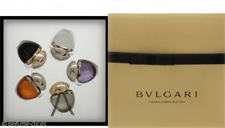Bvlgari The Jewel Charm Collection Set de Regalo 5 x 25ml (Omnia Amethyste EDT + Mon Jasmin Noir EDP + Indian Garnet EDT + Jasmin Noir EDP + Omnia Crystalline EDT)