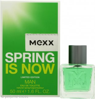 Mexx Spring is Now Man Eau de Toilette 50ml Vaporizador