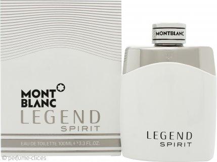 Mont Blanc Legend Spirit Eau de Toilette 100ml Vaporizador