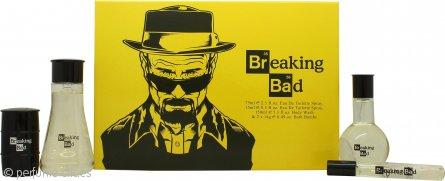 Breaking Bad Set de Regalo 75ml EDT + 150ml Gel Corporal + 2 x 14g Bomba de Baño + 15ml EDT