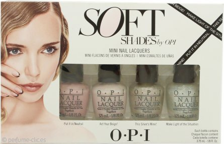 OPI Soft Shades Set de Regalo 4 x 3.75ml Esmalte de Uñas