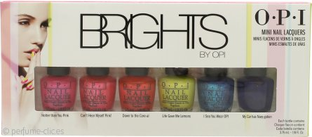OPI Brights Set de Regalo 6 x 3.75ml Esmalte de Uñas