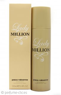 Paco Rabanne Lady Million Desodorante Vaporizador 150ml