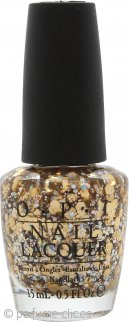 OPI Spotlight on Glitter Esmalte Uñas 15ml Reached My Gold!