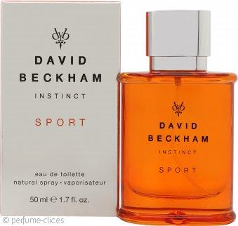 David Beckham Instinct Sport Eau de Toilette 50ml Vaporizador