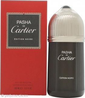 Cartier Pasha de Cartier Edition Noire Eau de Toilette 100ml Vaporizador