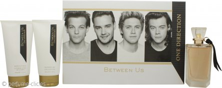 One Direction Between Us Set de Regalo 100ml EDP + 150ml Loción Corporal + 150ml Gel de Ducha