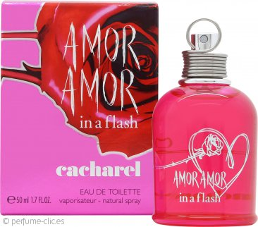 Cacharel Amor Amor In a Flash Eau de Toilette 50ml Vaporizador