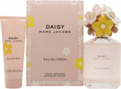Marc Jacobs Daisy Eau So Fresh Set de Regalo 125ml EDT + 75ml Loción Corporal