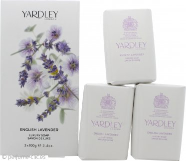 Yardley English Jabón Lavanda 3x 100g