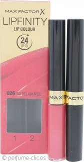 Max Factor Lipfinity Color de Labios - 026 So Delightful
