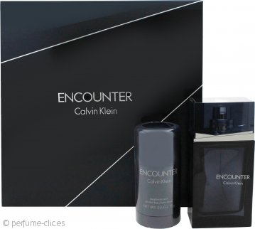 Calvin Klein Encounter Set de Regalo 100ml EDT + 75ml Desodorante en Barra