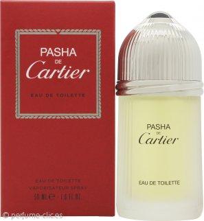 Cartier Pasha de Cartier Eau de Toilette 50ml Vaporizador