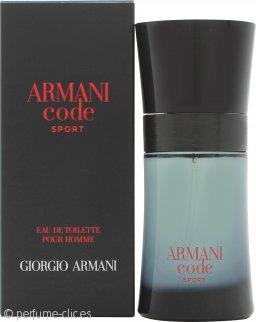 Giorgio Armani Armani Code Sport Eau de Toilette 50ml Vaporizador