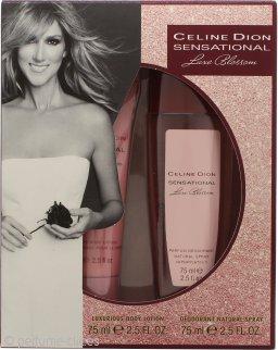 Celine Dion Sensational Luxe Blossom Set de Regalo 75ml Desodorante Vaporizador + 75ml Loción Corporal