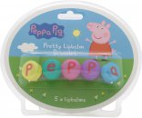 Peppa Pig Five Day Set de Regalo 5 x 1g Bálsamos Labiales
