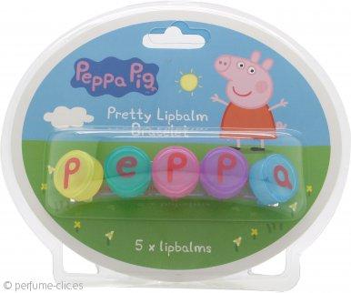 Peppa Pig Five Day Set de Regalo 5 x 1g Bálsamos Labiales