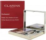 Clarins Cuarteto de Color Encantado y Paleta de Delineadores 4.9g (5 x Sombras Ojos + 2 x Aplicadores)