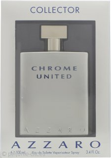 Azzaro Chrome United Eau de Toilette 100ml Vaporizador - Edición Coleccionista