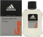 Adidas Deep Energy Aftershave 100ml Loción