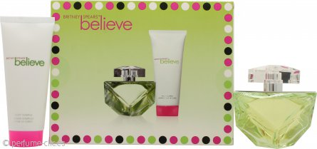 Britney Spears Believe Set de Regalo 100ml EDP + 100ml Soufflé Corporal