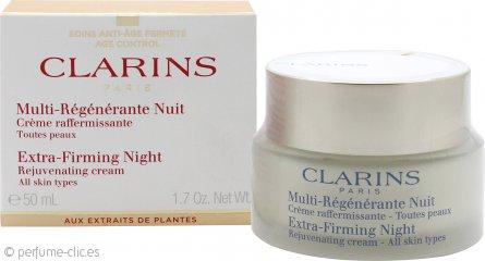 Clarins Extra Firming Crema Rejuvenecedora Noche 50ml – Todo Tipo de Pieles