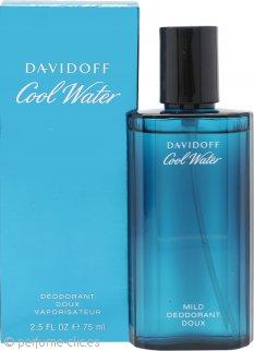 Davidoff Cool Water Desodorante en Vaporizador 75ml