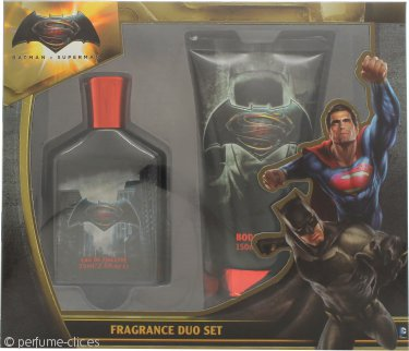 Batman Batman Vs Superman Set de Regalo 75ml EDT + 150ml Gel Corporal