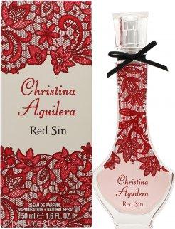 Christina Aguilera Red Sin Eau De Parfum 50ml Vaporizador