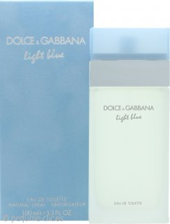 Dolce & Gabbana Light Blue Eau De Toilette 100ml Vaporizador