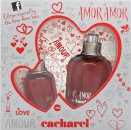 Cacharel Amor Amor My First Kiss Gift Set 50ml EDT + 50ml Body Lotion + 7ml Lipgloss