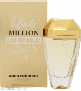 Paco Rabanne Lady Million Eau My Gold! Eau de Toilette 80ml Vaporizador