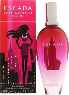 Escada Sexy Graffiti Eau de Toilette 100ml - Edición Limitada