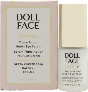 Doll Face Soothe Under Eye Puffiness Triple Acción Serum 15ml
