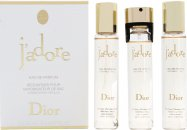 Christian Dior J'Adore Set de Regalo 100ml EDP + 7.5ml Vaporizador de Viaje