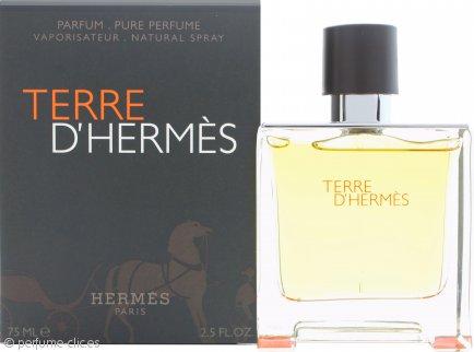 Hermes Terre D'Hermes Pure Perfume 75ml Vaporizador