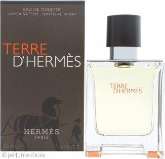 Hermes Terre D'Hermes Eau De Toilette 50ml Vaporizador