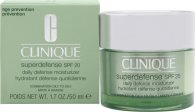 Clinique Superdefense SPF20 Hidratante Defensa Diaria 50ml – Pieles Mixtas a Grasas