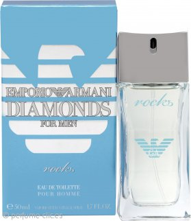 Giorgio Armani Emporio Diamonds Rocks Eau de Toilette 50ml Vaporizador