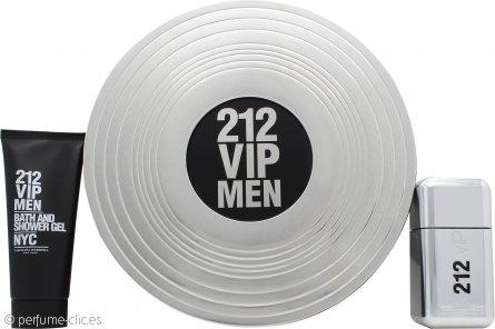 Carolina Herrera 212 VIP Men Set de Regalo 50ml EDT + 100ml Gel de Ducha